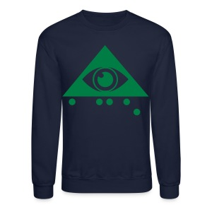 Braille Eye Ace  - Crewneck Sweatshirt