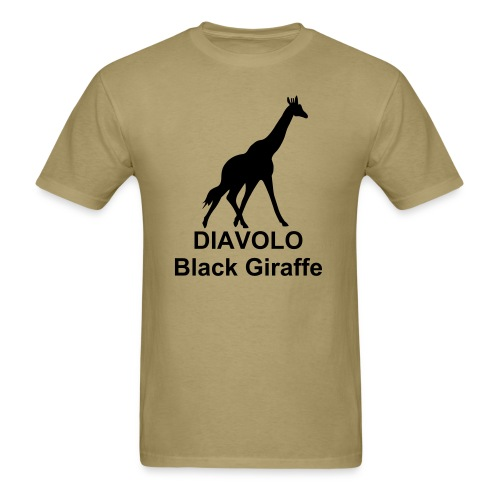 giraffe - Men's T-Shirt