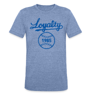 T-Shirts ~ Unisex Tri-Blend T-Shirt by American Apparel ~ KC LOYAL TEE