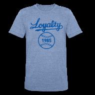 T-Shirts ~ Unisex Tri-Blend T-Shirt ~ KC LOYAL TEE