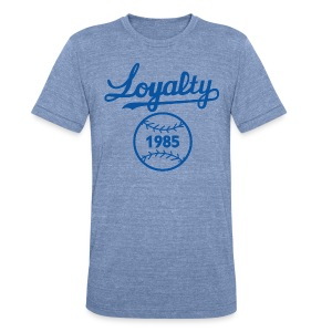 KC LOYAL TEE - Unisex Tri-Blend T-Shirt by American Apparel