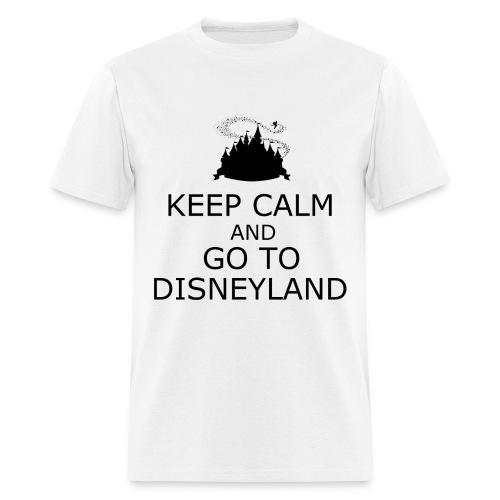 Keep Calm: Disneyland - Men's T-Shirt