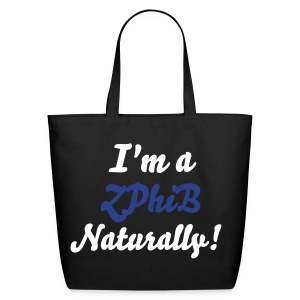 SN&LI! ZPhiB (Zeta) Tote  - Eco-Friendly Cotton Tote