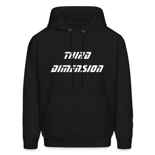 Men's Hoodie - Third Dimension Hooded Sweat Shirt