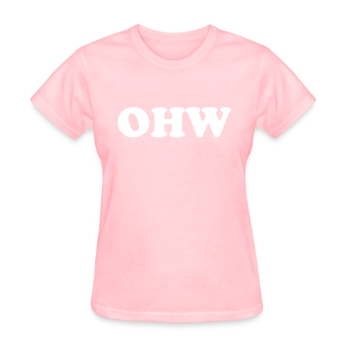 Womens Plain T-Shirt (Pink) - Women's T-Shirt