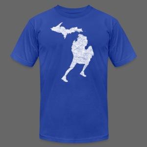 Love Michigan Running - Men's Fine Jersey T-Shirt
