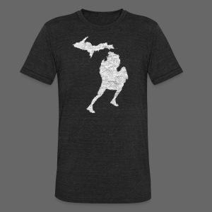 Love Michigan Running - Unisex Tri-Blend T-Shirt