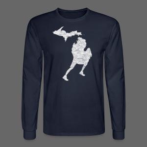 Love Michigan Running - Men's Long Sleeve T-Shirt
