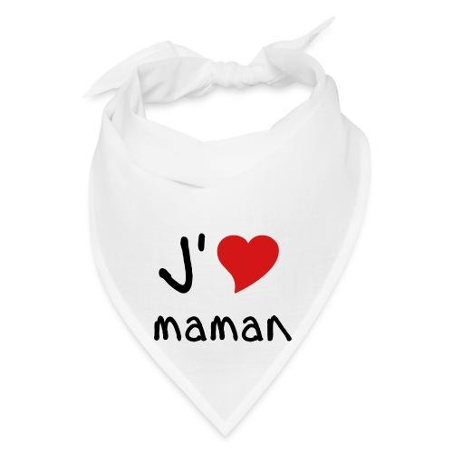 J'aime maman bandana - Bandana
