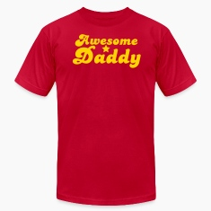 AWESOME DADDY! with a star T-Shirts