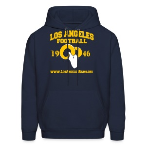 Los Angeles Football Sweatshirt (Navy Blue) - Men's Hoodie