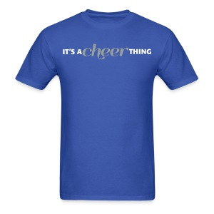 CHEERTHING: BACKSPOT - Men's T-Shirt