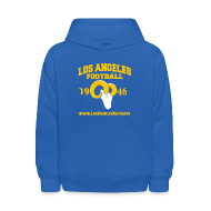 Sweatshirts ~ Kids' Hoodie ~ Los Angeles Football Children's Sweatshirt (Royal Blue)