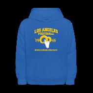Sweatshirts ~ Kids' Hoodie ~ Los Angeles Football Children's Sweatshirt (Royal Blue)