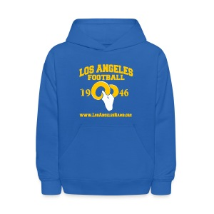 Los Angeles Football Children's Sweatshirt (Royal Blue) - Kids' Hoodie