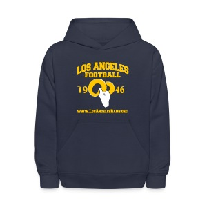 Los Angeles Football Children's Sweatshirt (Navy Blue) - Kids' Hoodie