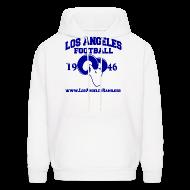 Hoodies ~ Men's Hoodie ~ Los Angeles Football Sweatshirt (White)