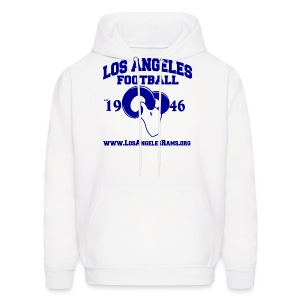 Los Angeles Football Sweatshirt (White) - Men's Hoodie