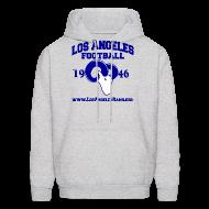 Hoodies ~ Men's Hoodie ~ Los Angeles Football Sweatshirt (Grey)