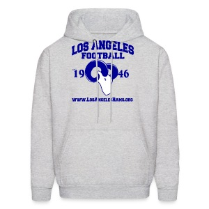 Los Angeles Football Sweatshirt (Grey) - Men's Hoodie