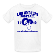 Kids' Shirts ~ Kids' T-Shirt ~ Los Angeles Football Children's T-Shirt (White)