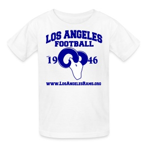 Los Angeles Football Children's T-Shirt (White) - Kids' T-Shirt