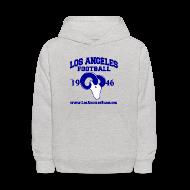 Sweatshirts ~ Kids' Hoodie ~ Los Angeles Football Children's Sweatshirt (Grey)