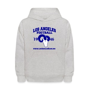 Los Angeles Football Children's Sweatshirt (Grey) - Kids' Hoodie