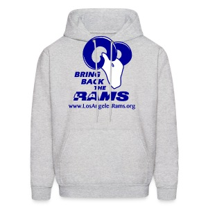 Bring Back the LA Rams Sweatshirt (Grey) - Men's Hoodie