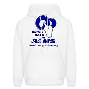 Bring Back the LA Rams Sweatshirt (White) - Men's Hoodie
