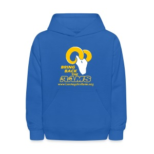 Bring Back the LA Rams Children's Sweatshirt (Royal Blue) - Kids' Hoodie