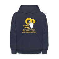 Sweatshirts ~ Kids' Hoodie ~ Bring Back the LA Rams Children's Sweatshirt (Navy Blue)