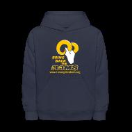 Sweatshirts ~ Kids' Hoodie ~ Bring Back the LA Rams Children's Sweatshirt (Navy Blue)