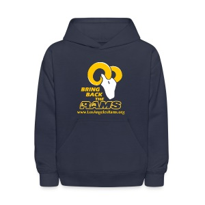 Bring Back the LA Rams Children's Sweatshirt (Navy Blue) - Kids' Hoodie