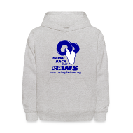 Sweatshirts ~ Kids' Hoodie ~ Bring Back the LA Rams Children's Sweatshirt (Grey)