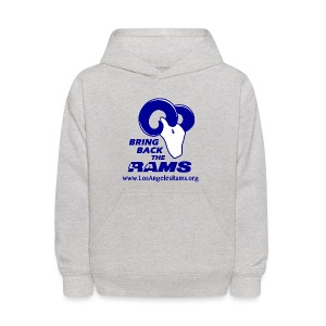 Bring Back the LA Rams Children's Sweatshirt (Grey) - Kids' Hoodie