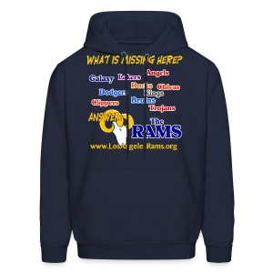 What is Missing Here? Sweatshirt - Men's Hoodie