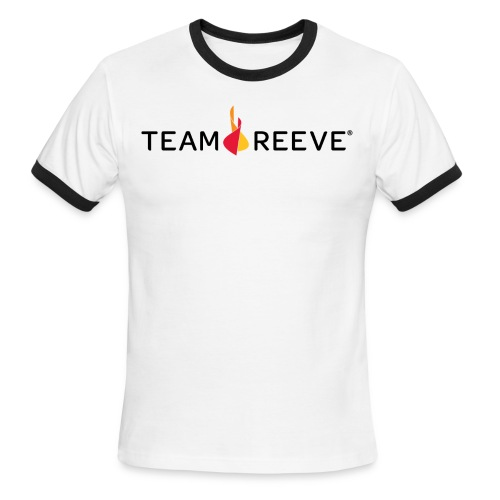 Team Reeve American Apparel Men's Tee  - Men's Ringer T-Shirt