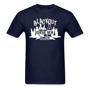 Blackout is the New Black - Men's T-Shirt