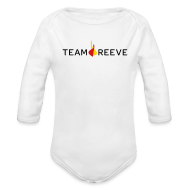 Baby Bodysuits ~ Baby Long Sleeve One Piece ~ Team Reeve Baby Long Sleeve One Piece
