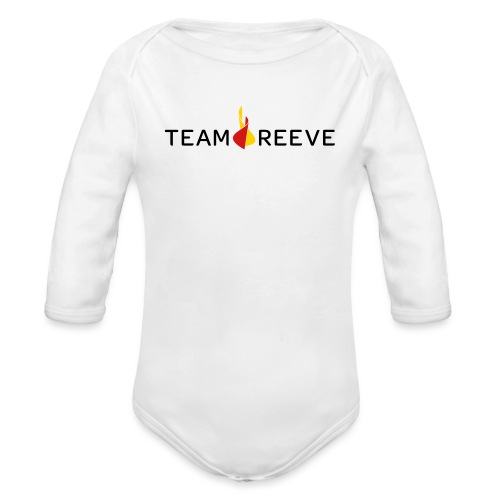 Team Reeve Baby Long Sleeve One Piece - Long Sleeve Baby Bodysuit