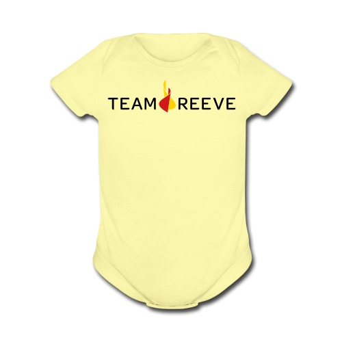 Team Reeve Baby Short Sleeve One PIece - Short Sleeve Baby Bodysuit
