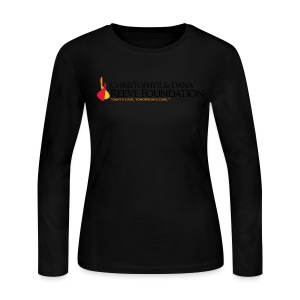 Reeve Foundation Women's Long Sleeve Tee - Women's Long Sleeve Jersey T-Shirt