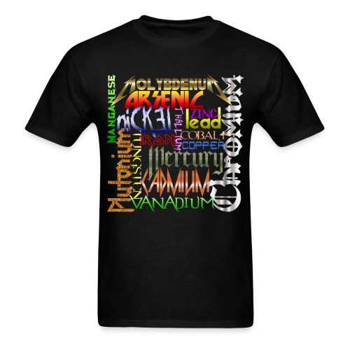 Heavy Metals - Men's T-Shirt