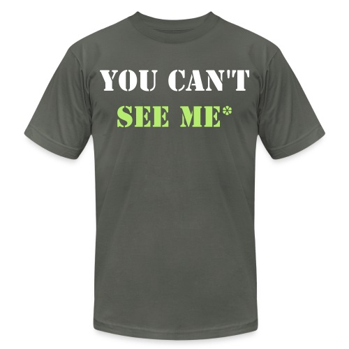 Invisibility Shirt - Men's  Jersey T-Shirt