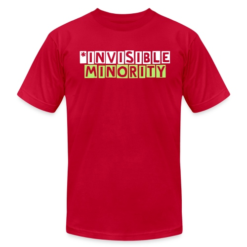 Invisible Letters TShirt - Men's Fine Jersey T-Shirt