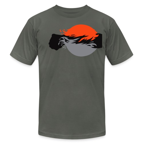 dreweyes_35 AA Dark - Men's Fine Jersey T-Shirt