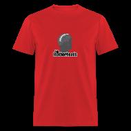 T-Shirts ~ Men's T-Shirt ~ LeatherHead Red