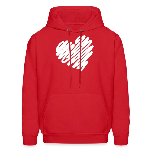 Heart Valentine's Day  - Men's Hoodie