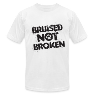 A Bruised Past Men's Tee (White) - Men's T-Shirt by American Apparel